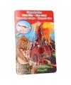 Dino World mini dino katapult Pterodactylus rood