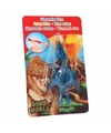 Dino World mini dino katapult Pterosauri�rs blauw