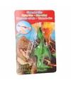 Dino World mini dino katapult Pterosauri�rs groen