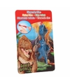 Dino World mini dino katapult T-rex blauw
