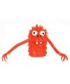 Vingerpopje rood monster 5 cm